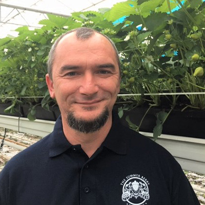 Andrzej Forgacz, a Harvest Manager from The English Summer Berry Company